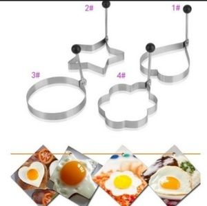 Cute Stainless Steel Egg Shapers